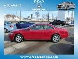 2002 San Marino Red Honda Accord EX Coupe #75669899