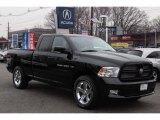 2012 Black Dodge Ram 1500 Sport Quad Cab 4x4 #75669384