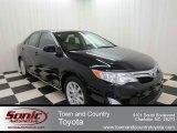 2012 Attitude Black Metallic Toyota Camry XLE V6 #75669748