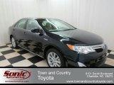 2012 Attitude Black Metallic Toyota Camry Hybrid XLE #75669747