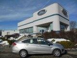 2013 Ingot Silver Ford Fiesta SE Sedan #75669365