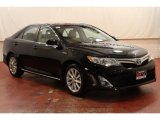 2012 Attitude Black Metallic Toyota Camry Hybrid XLE #75670000