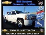 2008 Summit White Chevrolet Silverado 1500 LT Crew Cab 4x4 #75669997