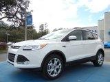 2013 White Platinum Metallic Tri-Coat Ford Escape SE 1.6L EcoBoost #75669446
