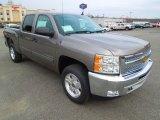 2013 Graystone Metallic Chevrolet Silverado 1500 LT Crew Cab 4x4 #75669859