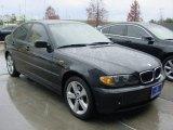 2004 Jet Black BMW 3 Series 325xi Sedan #75669335