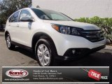 2013 White Diamond Pearl Honda CR-V EX #75669330