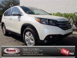 2013 White Diamond Pearl Honda CR-V EX #75669329