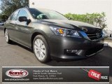 2013 Hematite Metallic Honda Accord EX-L V6 Sedan #75669320