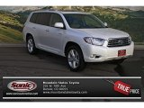 2010 Blizzard White Pearl Toyota Highlander Limited 4WD #75669311