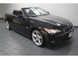 2010 Black Sapphire Metallic BMW 3 Series 335i Convertible #75669701