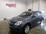 2013 Atlantis Blue Metallic Chevrolet Equinox LS #75727093