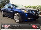 2013 Obsidian Blue Pearl Honda Accord Sport Sedan #75726238