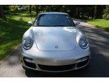 2007 Arctic Silver Metallic Porsche 911 Turbo Coupe #751715
