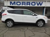 2013 Oxford White Ford Escape SE 1.6L EcoBoost 4WD #75726472