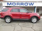 2013 Ruby Red Metallic Ford Explorer XLT 4WD #75726471