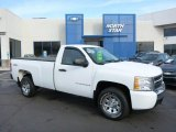 2008 Summit White Chevrolet Silverado 1500 LS Regular Cab 4x4 #75726628