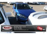2006 Vivid Blue Pearl Acura RSX Type S Sports Coupe #75726210