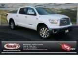 2013 Super White Toyota Tundra Platinum CrewMax 4x4 #75726206