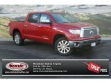 2013 Barcelona Red Metallic Toyota Tundra Platinum CrewMax 4x4 #75726205
