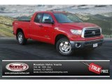 2013 Radiant Red Toyota Tundra SR5 TRD Double Cab 4x4 #75726204