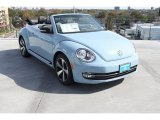 2013 Denim Blue Volkswagen Beetle Turbo Convertible 60s Edition #75727035