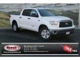 2013 Super White Toyota Tundra CrewMax 4x4 #75726203