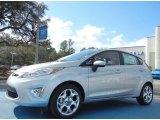 2013 Ingot Silver Ford Fiesta Titanium Hatchback #75726451