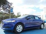 2013 Deep Impact Blue Metallic Ford Fusion S #75726445