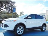 2013 Oxford White Ford Escape SE 2.0L EcoBoost #75726441