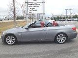 2007 Space Gray Metallic BMW 3 Series 335i Convertible #75726753