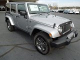 2013 Billet Silver Metallic Jeep Wrangler Unlimited Oscar Mike Freedom Edition 4x4 #75726895