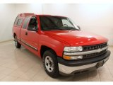1999 Victory Red Chevrolet Silverado 1500 LS Extended Cab #75726885