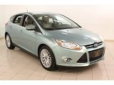 2012 Frosted Glass Metallic Ford Focus SEL 5-Door #75726882