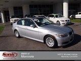 2009 Titanium Silver Metallic BMW 3 Series 328i Sedan #75726724