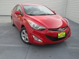 2013 Volcanic Red Hyundai Elantra Coupe GS #75726695