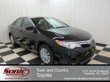 2012 Attitude Black Metallic Toyota Camry LE #75726826