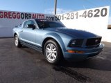 2005 Windveil Blue Metallic Ford Mustang V6 Premium Coupe #75786744