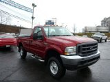 2003 Toreador Red Metallic Ford F250 Super Duty XL Regular Cab 4x4 #75786562