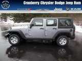 2013 Billet Silver Metallic Jeep Wrangler Unlimited Sport 4x4 #75786541