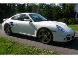 2007 Carrara White Porsche 911 Turbo Coupe #751707