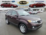 2011 Dark Cherry Kia Sorento LX AWD #75787782