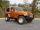1988 Jeep Wrangler Copper Orange
