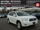 2010 Blizzard White Pearl Toyota Highlander Limited 4WD #75786686