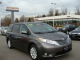 2012 Predawn Gray Mica Toyota Sienna Limited AWD #75786684
