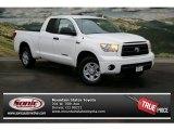 2013 Super White Toyota Tundra SR5 Double Cab 4x4 #75787427