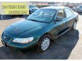 2002 Noble Green Pearl Honda Accord LX Sedan #75787418