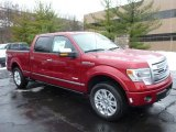 2013 Ruby Red Metallic Ford F150 Platinum SuperCrew 4x4 #75787584