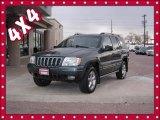 2002 Onyx Green Pearlcoat Jeep Grand Cherokee Overland 4x4 #75786672