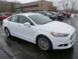 2013 Oxford White Ford Fusion Titanium AWD #75787576